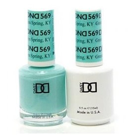 DND 569 Green Spring KY - DND Duo Gel + Lacquer