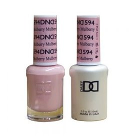 DND 594 Mullberry - DND Duo Gel + Lacquer