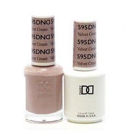 DND 595 Velvet Cream - DND Duo Gel + Lacquer