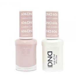 DND 606 London Coach - DND Duo Gel + Lacquer