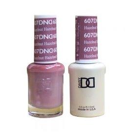 DND 607 Hazelnut - DND Duo Gel + Lacquer