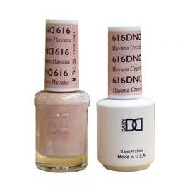 DND 616 Havana Cream - DND Duo Gel + Lacquer