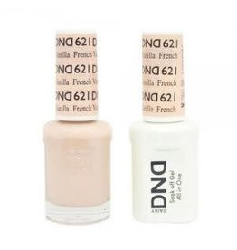 DND 621 French Vanilla - DND Duo Gel + Lacquer