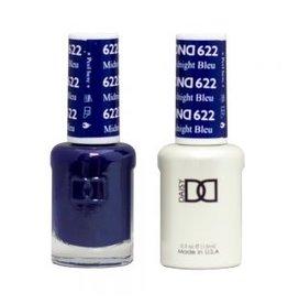 DND 622 Midnight Bleu - DND Duo Gel + Lacquer