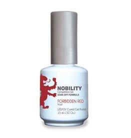 LECHAT NBGP13 Forbidden Red - Nobility Gel Polish