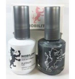 Nobility NBCS008 Platinum - Nobility Duo Gel + Lacquer