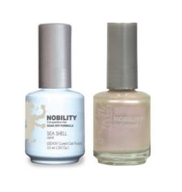 Nobility NBCS011 Sea Shell - Nobility Duo Gel + Lacquer