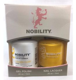 Nobility NBCS019 Golden Glory - Nobility Duo Gel + Lacquer