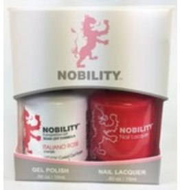 Nobility NBCS033 Italiano Rose  - Nobility Duo Gel + Lacquer