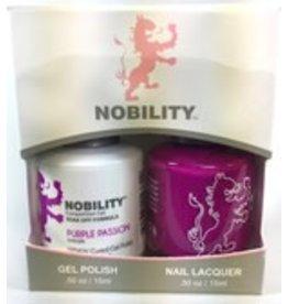 Nobility NBCS054 Purple Passion - Nobility Duo Gel + Lacquer