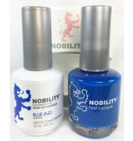 Nobility NBCS058 Blue Jazz - Nobility Duo Gel + Lacquer