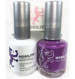 Nobility NBCS099 Soft Plum - Nobility Duo Gel + Lacquer