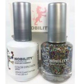 Nobility NBCS112 Color Explosion - Nobility Duo Gel + Lacquer
