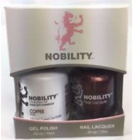 Nobility NBCS023 Coffee - Nobility Duo Gel + Lacquer