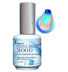Perfect Match A Bit Chilly MPMG05 - Perfect Match MOOD - Color Changing Gel Polish