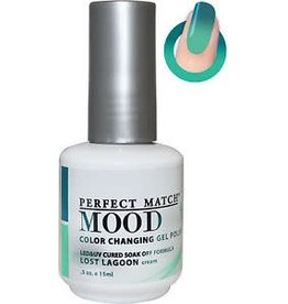 Perfect Match Lost Lagoon MPMG41 - Perfect Match MOOD - Color Changing Gel Polish