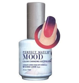 Perfect Match Wicked Love MPMG39 - Perfect Match MOOD - Color Changing Gel Polish