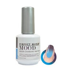Perfect Match Falling Raindrops MPMG29 - Perfect Match MOOD - Color Changing Gel Polish