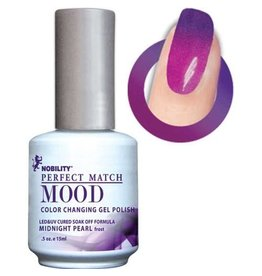 Perfect Match Midnight Pearl MPMG07 - Perfect Match MOOD - Color Changing Gel Polish