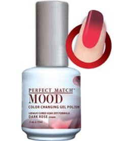 Perfect Match Dark Rose MPMG34 - Perfect Match MOOD - Color Changing Gel Polish