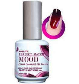 Perfect Match Groovy Heat Wave MPMG01 - Perfect Match MOOD - Color Changing Gel Polish