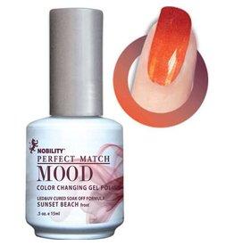 Perfect Match Sunset Beach MPMG08 - Perfect Match MOOD - Color Changing Gel Polish