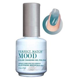 Perfect Match Glistening Waterfall MPMG14 - Perfect Match MOOD - Color Changing Gel Polish