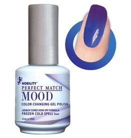 Perfect Match Frozen Cold Spell MPMG06 - Perfect Match MOOD - Color Changing Gel Polish