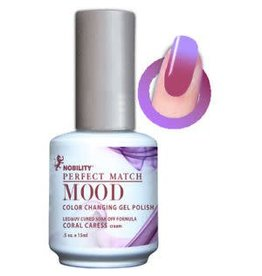 Perfect Match Coral Caress MPMG11 - Perfect Match MOOD - Color Changing Gel Polish