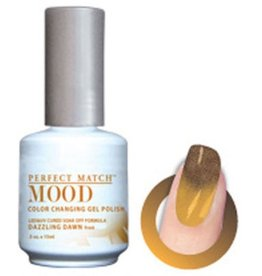 Perfect Match Dazzling Down MPMG15 - Perfect Match MOOD - Color Changing Gel Polish