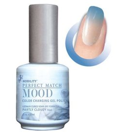 Perfect Match Partly Cloudy MPMG02 - Perfect Match MOOD - Color Changing Gel Polish