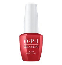 OPI GC G51 - Tell Me About It Stud - OPI Gel Color - Grease Collection Summer 2018
