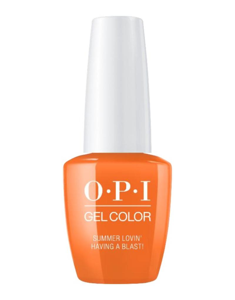 OPI GC G43 - Summer Lovin' Having A Blasti - OPI Gel Color - Grease Collection Summer 2018