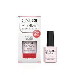 CND CND Shellac L - Negligee 2x More/Plus 15ml - Limited Edition