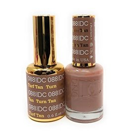 DND 088 TURF TAN - DND DC Duo Gel Matching Color