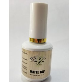 One Gel One Gel Matte Top - Gel Polish Matte Top Coat