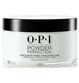 OPI DP001 Clear Color Set Powder 120.5 g (4.25oz) - OPI Powder Perfection Dipping System Color Powder