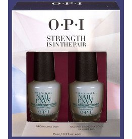 OPI OPI Strength Is In the Pair - Nail Envy Strength 2 bottles 15ml (0.5oz each)