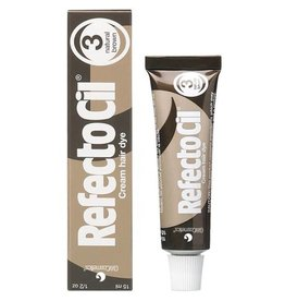 RefectoCil RefectoCil Cream Hair Dye #3 natural brown 15 ml or 0.5 oz