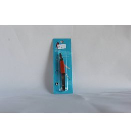 J Beauty - Eyebrow Tweezer - half orange