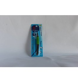 J Beauty - Eyebrow Tweezer - half green