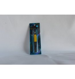 J Beauty - Eyebrow Tweezer - half yellow