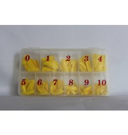 Nail Tip box - Yellow