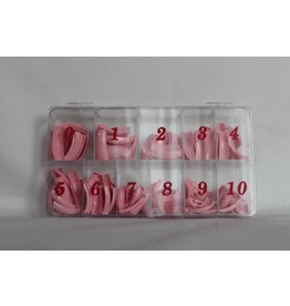 Nail Tip box - Light Pink