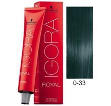 #0-33 Anti Red Concentrate - Royal IGORA Schwarzkopf Permanent Color Creme