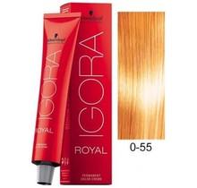 #0-55 Gold Concentrate - Royal IGORA Schwarzkopf Permanent Color Creme