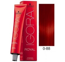 #0-88 Red Concentrate - Royal IGORA Schwarzkopf Permanent Color Creme