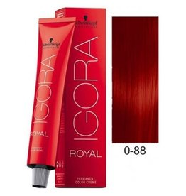 Schwarzkopf #0-88 Red Concentrate - Royal IGORA Schwarzkopf Permanent Color Creme