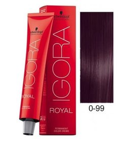 Schwarzkopf #0-99 Violet Concentrate - Royal IGORA Schwarzkopf Permanent Color Creme