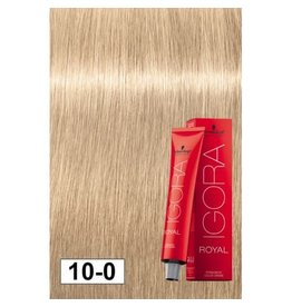 Schwarzkopf #10-0 Ultra Blonde Neutral - Royal IGORA